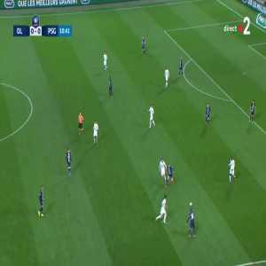 Olympique Lyonnais 1-0 Paris Saint-Germain - Terrier 11' [Coupe de France]