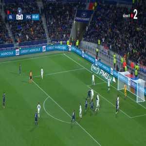 Olympique Lyonnais 1-[4] Paris Saint-Germain - Sarabia 81' [Coupe de France]