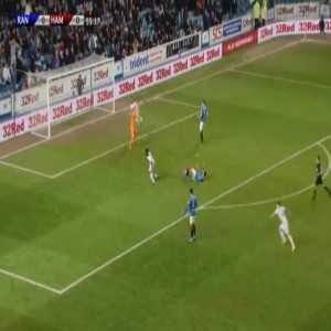 Rangers 0-1 Hamilton - David Moyo 56'