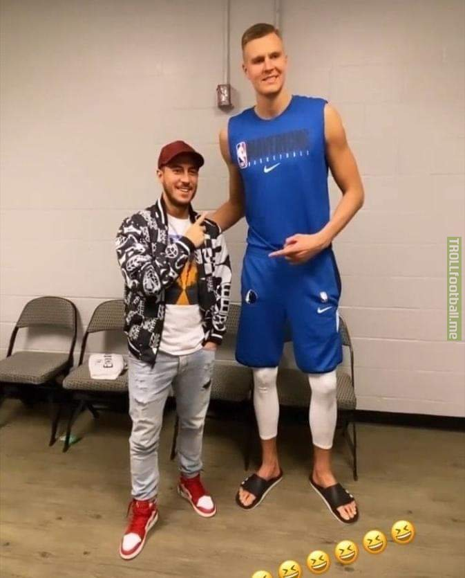 How tall is Eden Hazard?