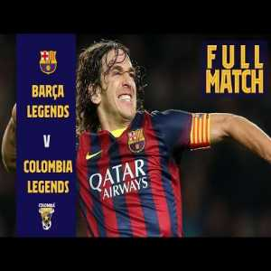 Live: Barca Legends vs Colombia Legends