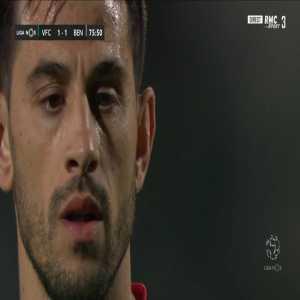 Pizzi (Benfica) penalty miss against Vitoria Setubal 76' (+ call)