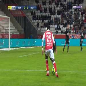 Reims 1-0 Brest - El Bilal Toure 37'