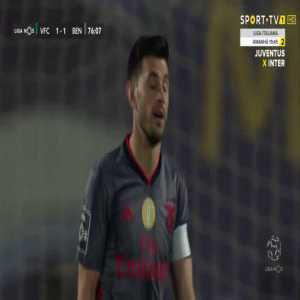 Vitória de Setúbal vs. SL Benfica : Pizzi missed penalty 76' (3rd missed penalty in his last 2 matches)