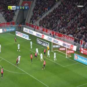 Lille 1-0 Lyon - Loic Remy 33'