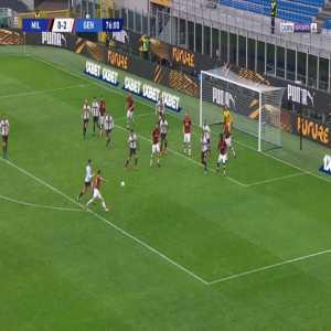 Milan [1]-2 Genoa - Zlatan Ibrahimovic 77'