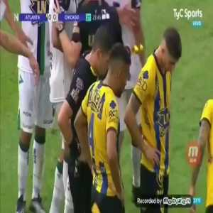 Nueva Chicago's player antisemitic gesture after red card [Argentina 2nd division]