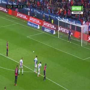 Osasuna 1-0 Espanyol - Roberto Torres penalty 51'