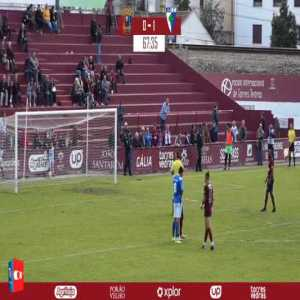 Scandalous refereeing in today's match between Toreense and Anadia (3rd Portuguese division). The referee awards a ridiculous penalty to the home side and a consequent straight red card. Then the penalty was taken 3 times as the two first atempts were missed by the Toreense player.