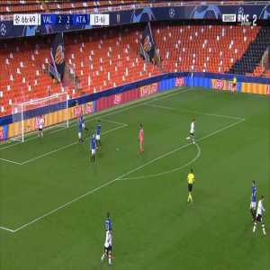 Valencia 3-[3] Atalanta [4-7 on agg.] - Ilicic 71'