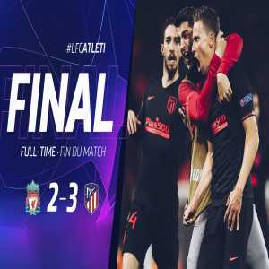 Atletico Madrid have qualified to the quarter finals of Champions League after beating Liverpool 4-2 on aggregate score
