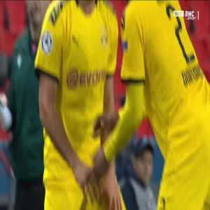Emre Can 2 yellow cards in a row against PSG 89'