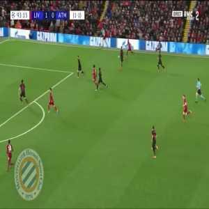 Liverpool [2]-0 Atletico (agg. 2-1) : Firmino 94'