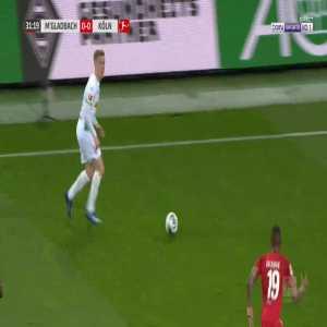 Monchengladbach 1-0 FC Koln - Breel Embolo 32'