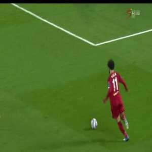 Salah chance vs Atletico Madrid
