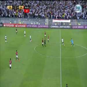 Jandrei (Atl. Paranaense GK) red card for kicking the ball towards referee