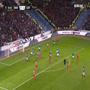 Rangers 0-2 Leverkusen - Aranguiz 67'