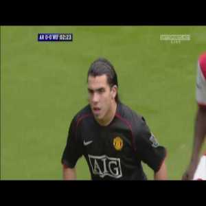 Arsenal vs Manchester United 2007-08 Full Match Replay