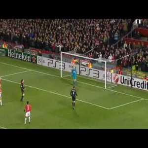 David Beckham receiving an unbelievable reception returning at Old Trafford | Manchester United vs AC Milan - Champions League 2010