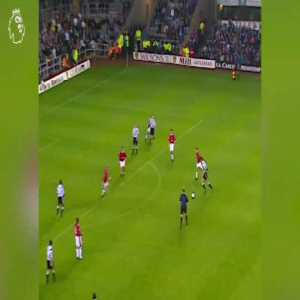 Remembering Newcastle's Philippe Albert casually chipping Schmeichel to make it 5-0 vs Fergie's Man United
