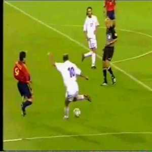 Zidane at Euro 2000, one of the best individual performances over the course of a major tournament in history