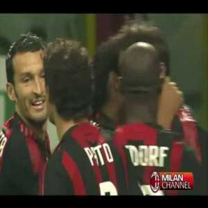AC Milan 1-0 Inter - Ronaldinho 36'