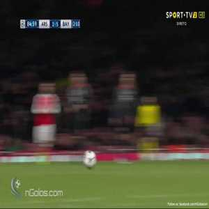 Arsenal 1 - Bayern Munich [5] A. Vidal [2-10 on aggr.]