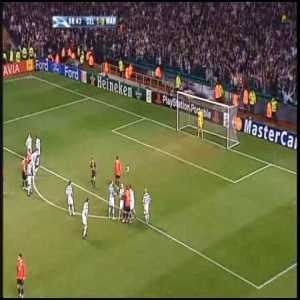 Celtic vs Manchester United - 2006 Champions League Group F