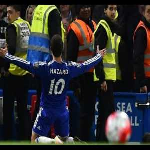 On this Day in 2016, Eden Hazard Scores to Tie Against Tottenham Thereby Securing the Premier League Title for Leicester City