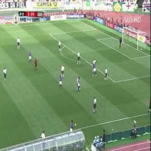 England 1-[2] Brazil - Ronaldinho 50'