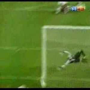 FC Barcelona [3]-2 Valencia Rivaldo 88' (Great Goal)
