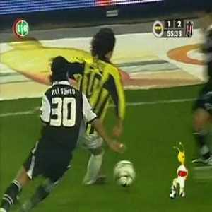 Fenerbahçe 3 - 4 Beşiktaş (2005, second half) At 2-3, after their goalie is red-carded and without subs remaining, Besiktas put their forward Daniel Pancu in goal for the last 15 minutes of the game and win in dramatic fashion.