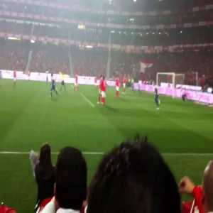 Hulk saying no to racism with a beautiful goal vs Benfica