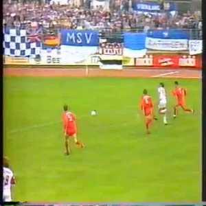 Jürgen Klopp scores against MSV Duisburg [1991]