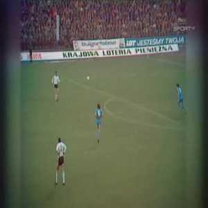 Legia Warszawa 1-0 Manchester City - Kazimierz Deyna 15'