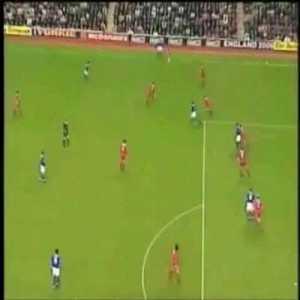Liverpool 0 - [1] Everton - Campbell 4'