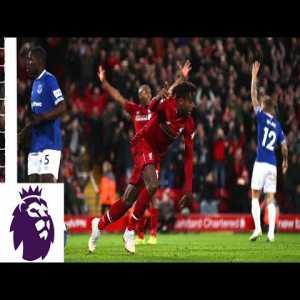 Liverpool [1] - 0 Everton 90'+5 Origi (Great Goal)