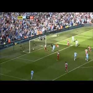 Manchester City [3]-2 QPR- Sergio Aguero '93:20