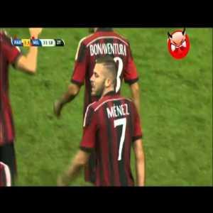 Parma 3-[5] AC Milan - Mama mia Menez 79' (incroyable)