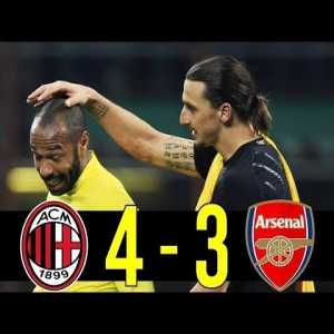 The Day AC Milan Destroyed Arsenal(And Comeback) : 11-12 Champions Leagu...