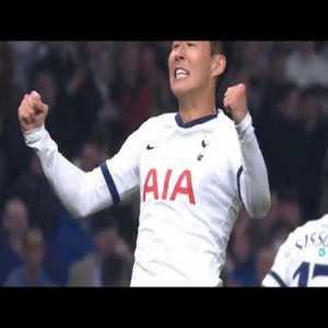 Tottenham [1]-0 Bayern Munich. Son Heung-Min 11'