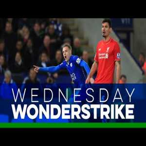 Wednesday Wonderstrike   Jamie Vardy - You've all seen this goal (now watch all 10 angles)
