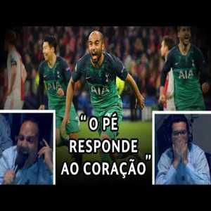 Brazilian Radio commentators watching Ajax 2-3 Spurs