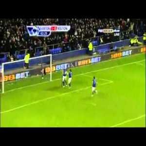 Everton [1]-0 Bolton - Howard 63'