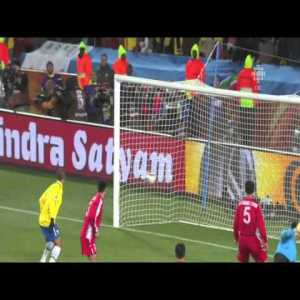 Maicon at the 2010 WC - that other Brazilian rocket