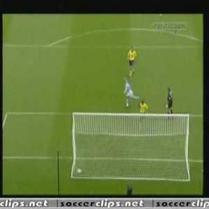 Man City [1] - 0 Arsenal - Lauren 10' [Great Own Goal]
