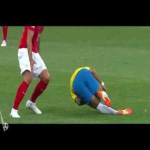 Serbia 0-0 Brazil: Neymar Fouled 32' (Great Roll)
