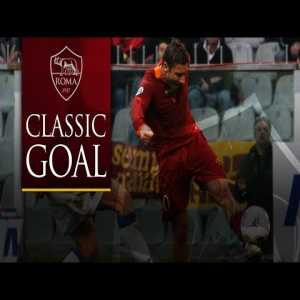 Totti Outrageous Volley