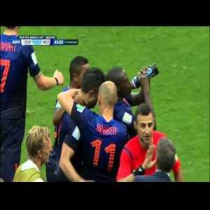 Van Persie diving header against Spain (WC 2014)
