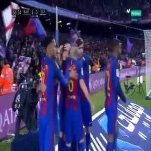 Barcelona [2]-0 Espanyol - Luis Suarez 67' (Great goal)